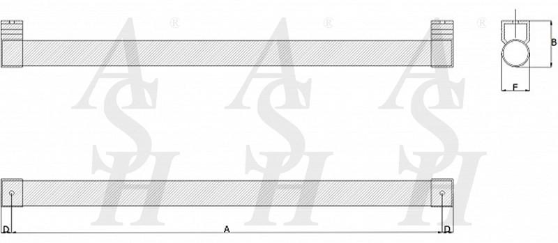 ash122-straight-pull-door-handle-technical-drawing-ash-door-furniture-specialists-wm