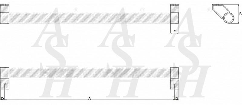 ash122c-cranked-pull-door-handle-technical-drawing-ash-door-furniture-specialists-wm