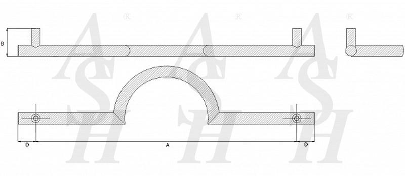 ash125-cranked-pull-door-handle-technical-drawing-ash-door-furniture-specialists-wm