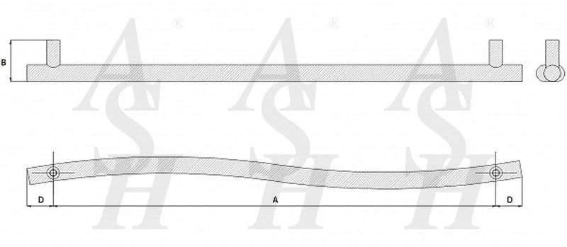 ash147-curved-pull-door-handle-technical-drawing-ash-door-furniture-specialists-wm