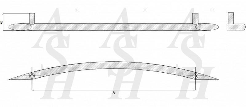 ash227-curved-cranked-pull-door-handle-technical-drawing-ash-door-furniture-specialists-wm