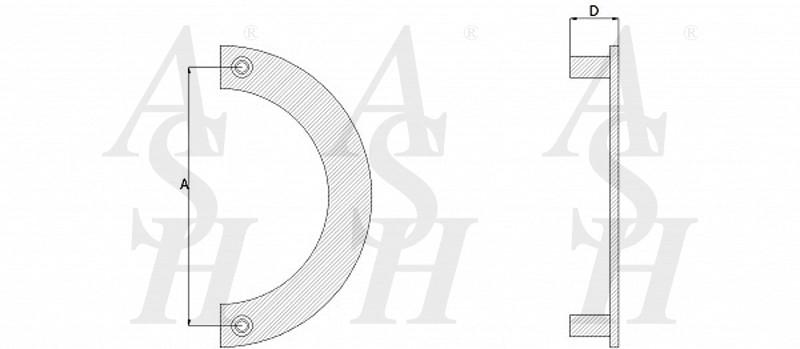 ash238-curved-cranked-pull-door-handle-technical-drawing-ash-door-furniture-specialists-wm