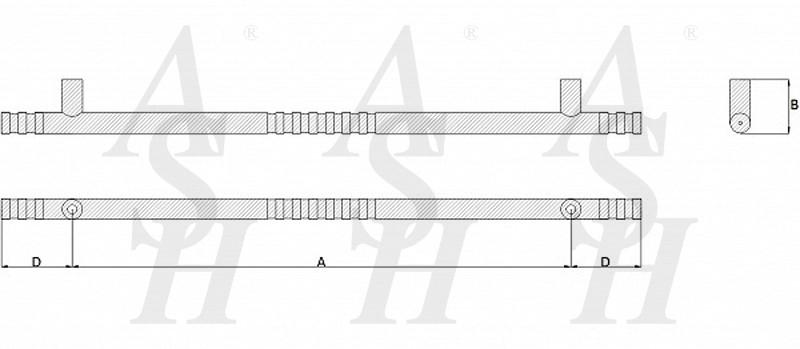 ash240-straight-pull-door-handle-technical-drawing-ash-door-furniture-specialists-wm