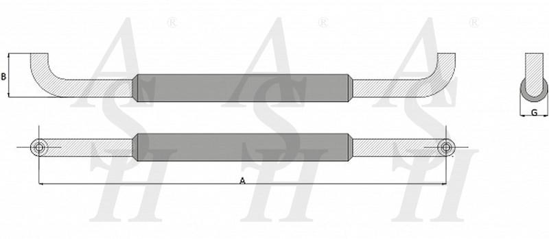 ash400tg-combi-pull-door-handle-technical-drawing-ash-door-furniture-specialists-wm
