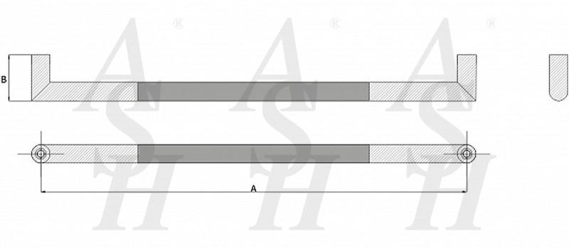 ash406fg-combi-pull-door-handle-technical-drawing-ash-door-furniture-specialists-wm