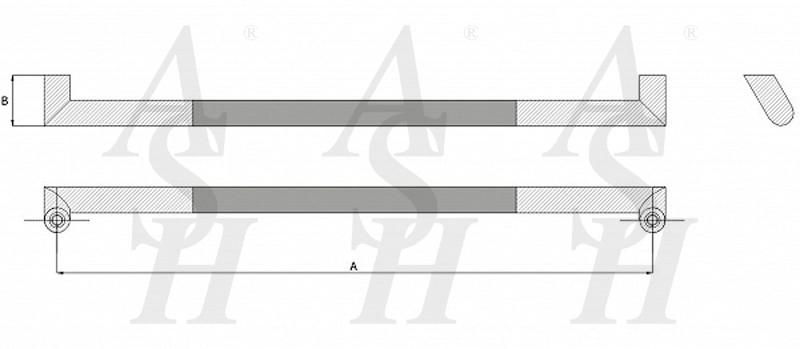 ash406osfg-combi-pull-door-handle-technical-drawing-ash-door-furniture-specialists-wm