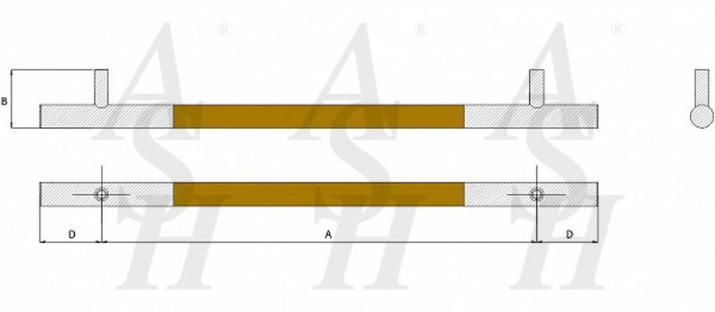 ash521fg-timber-pull-door-handle-technical-drawing-ash-door-furniture-specialists-wm