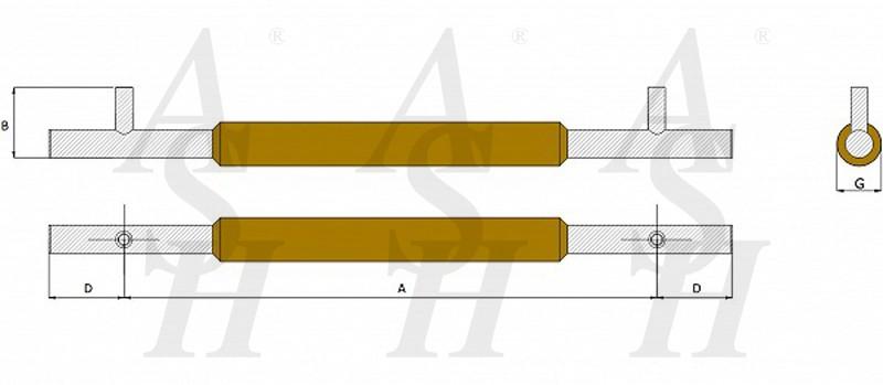 ash521tg-timber-pull-door-handle-technical-drawing-ash-door-furniture-specialists-wm