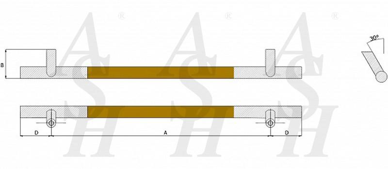 ash523fg-timber-pull-door-handle-technical-drawing-ash-door-furniture-specialists-wm