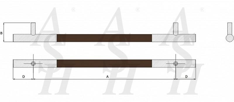 ash621-leather-clad-pull-door-handle-technical-drawing-ash-door-furniture-specialists-wm