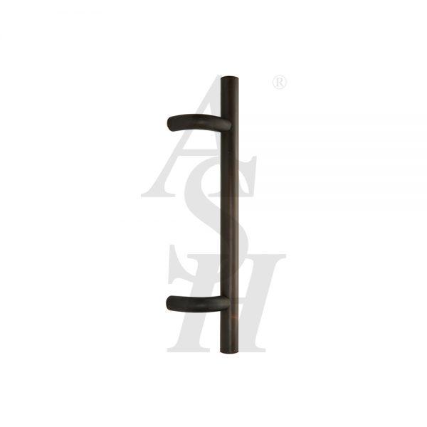 ash120-bronze-patina-antimicrobial-cranked-pull-door-handle-ash-door-furniture-specialists-wm