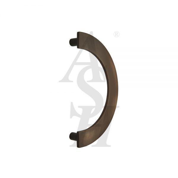 ash238-bronze-patina-curved-cranked-plate-pull-door-handle-ash-door-furniture-specialists