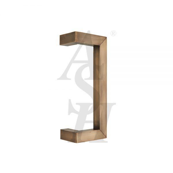 ash258c-antique-brass-cranked-plate-pull-door-handle-ash-door-furniture-specialists
