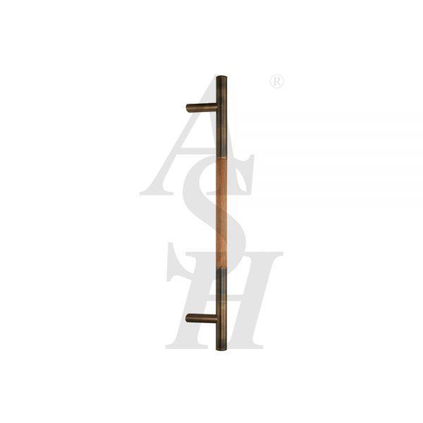 ash523fg-antique-brass-timber-pull-door-handle-ash-door-furniture-specialists