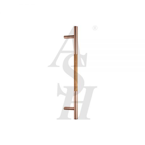 ash523fg-satin-copper-timber-pull-door-handle-ash-door-furniture-specialists
